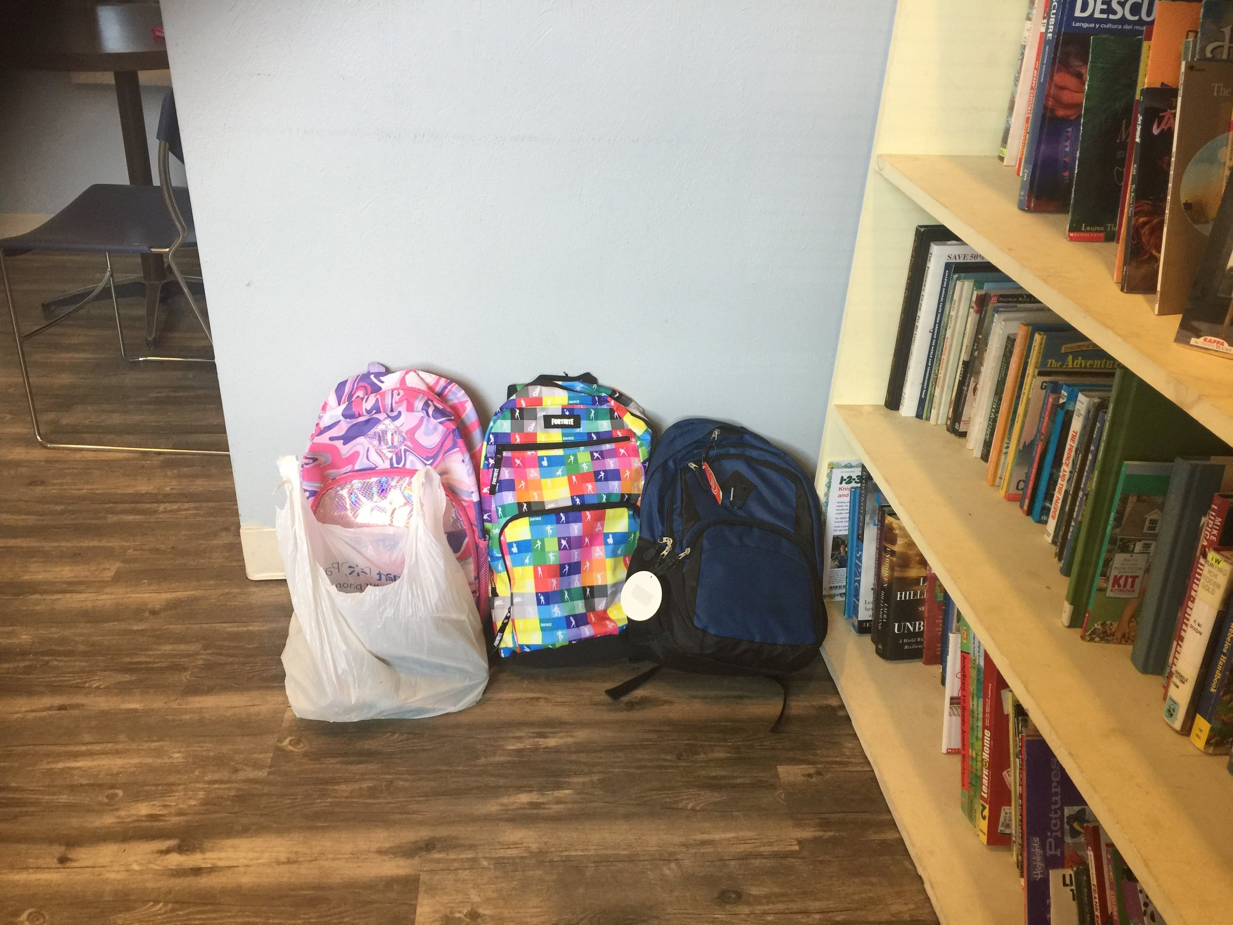 School Supplies for Woodman West - This is the last week that we'll be taking supplies to the Woodman West Community. Here's how you can contribute.