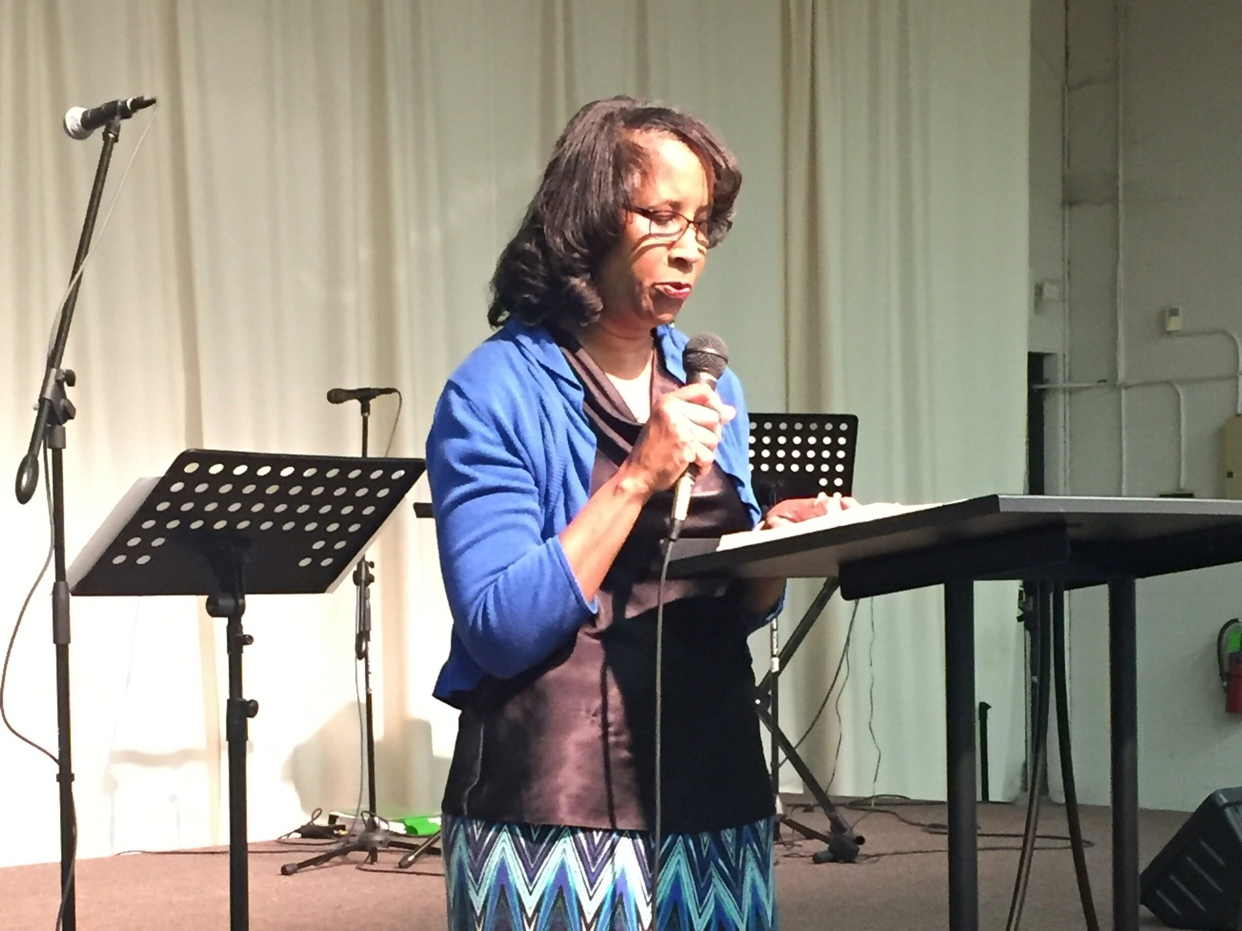 Scripture Reading - Reading the Bible during our Sunday service is a great way to encourage others by simply…reading. Jump in as we're going through John's gospel. Sign up here.