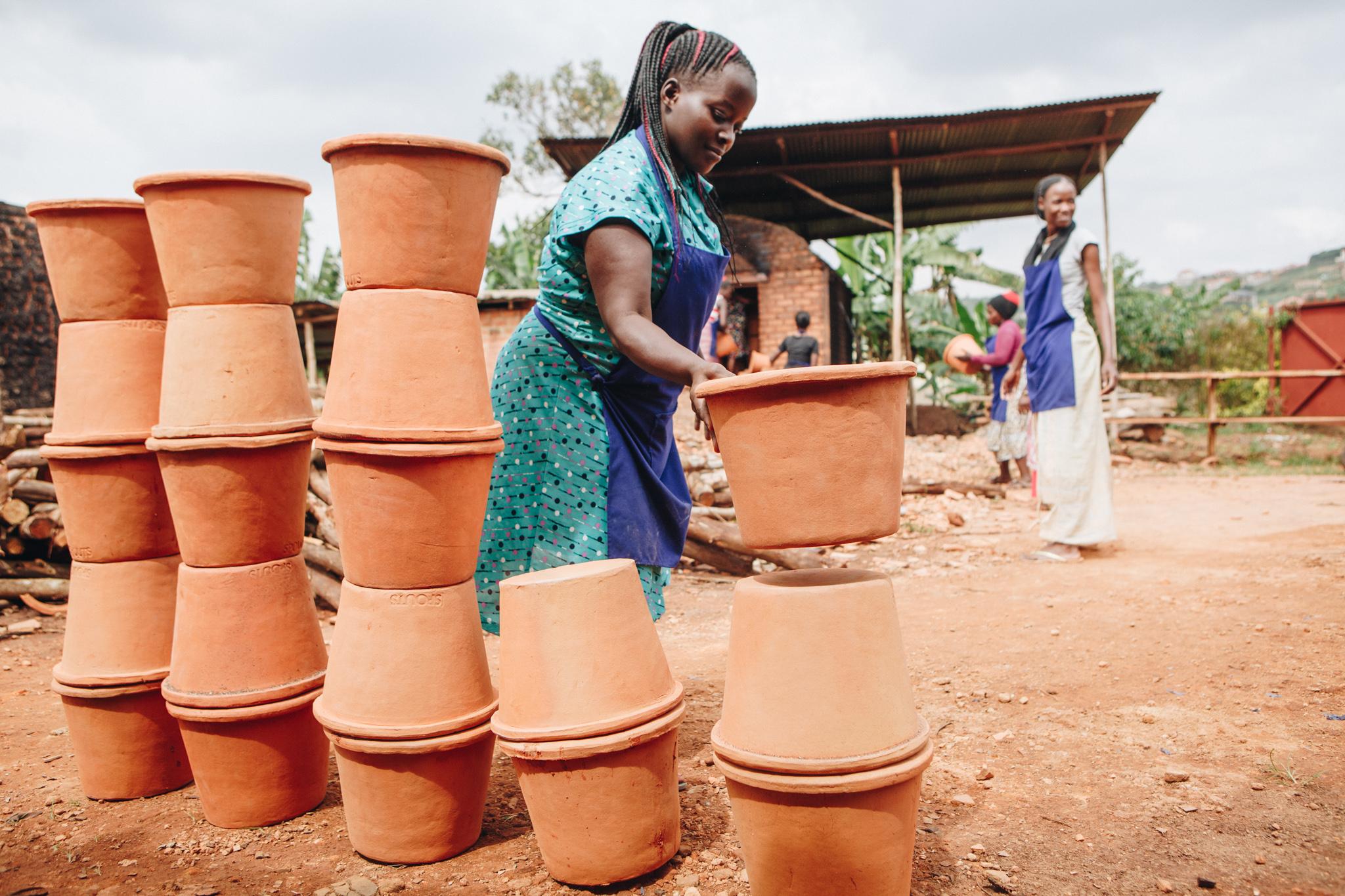 Spouts of Water, Uganda. Photo credit: Tom Woollard