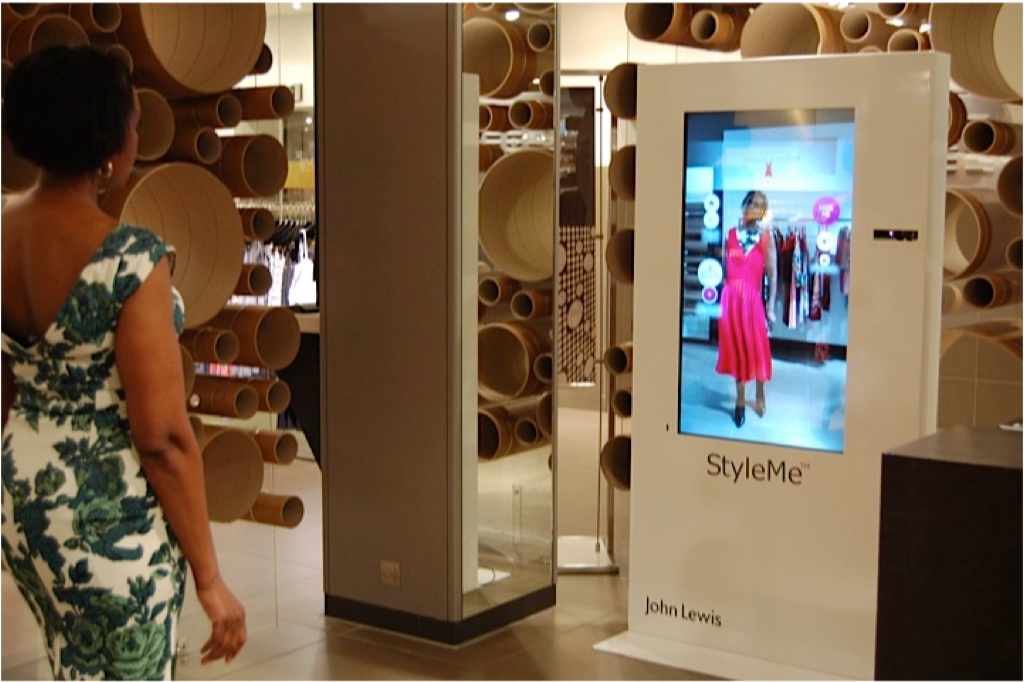 StyleMe Fashion Mirror for John Lewis Oxford Street