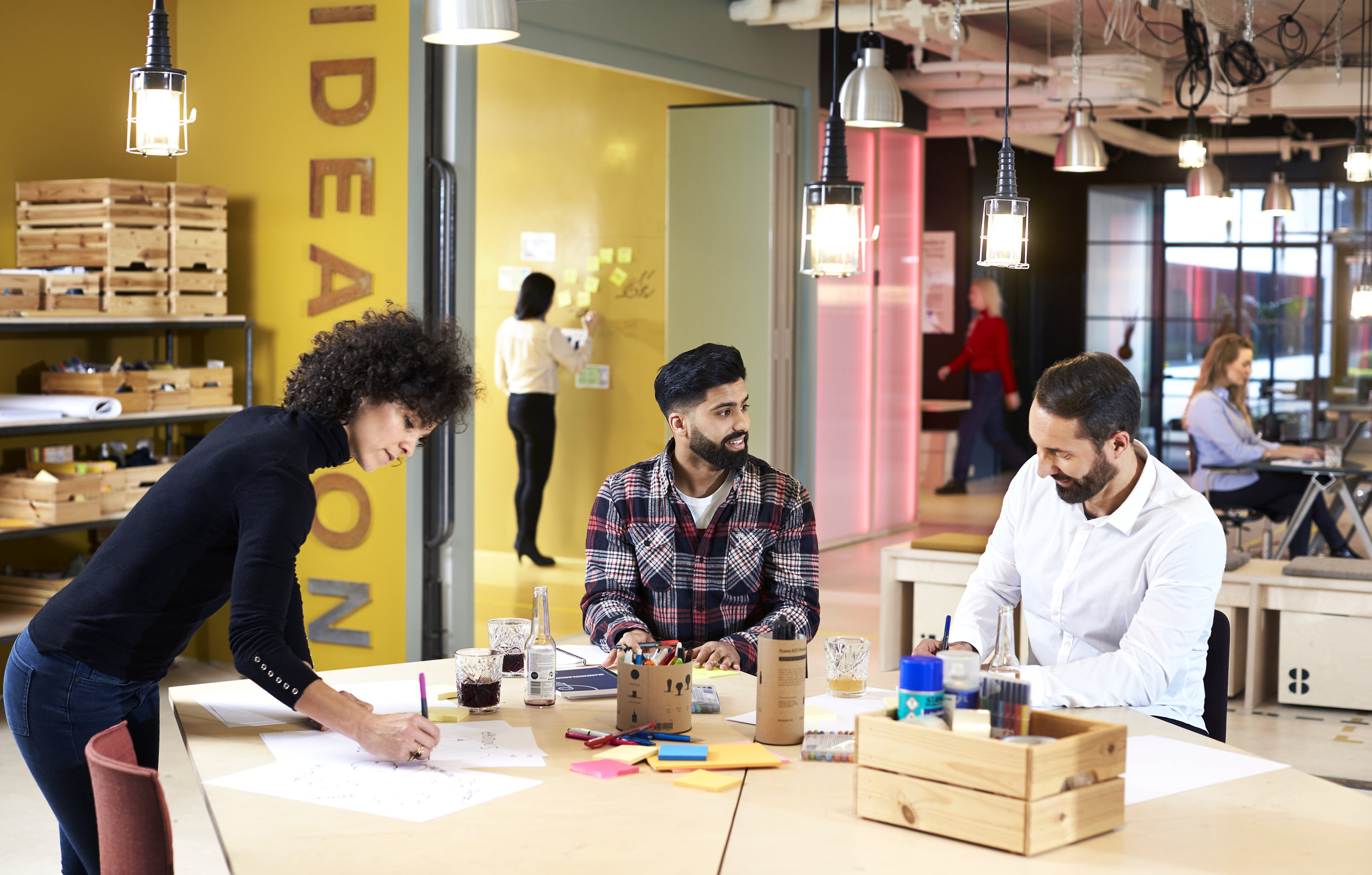 THE FUTURE OF WORK - Creating a flexible environment to support teams, agility, and leadership in the workspace and workforce.