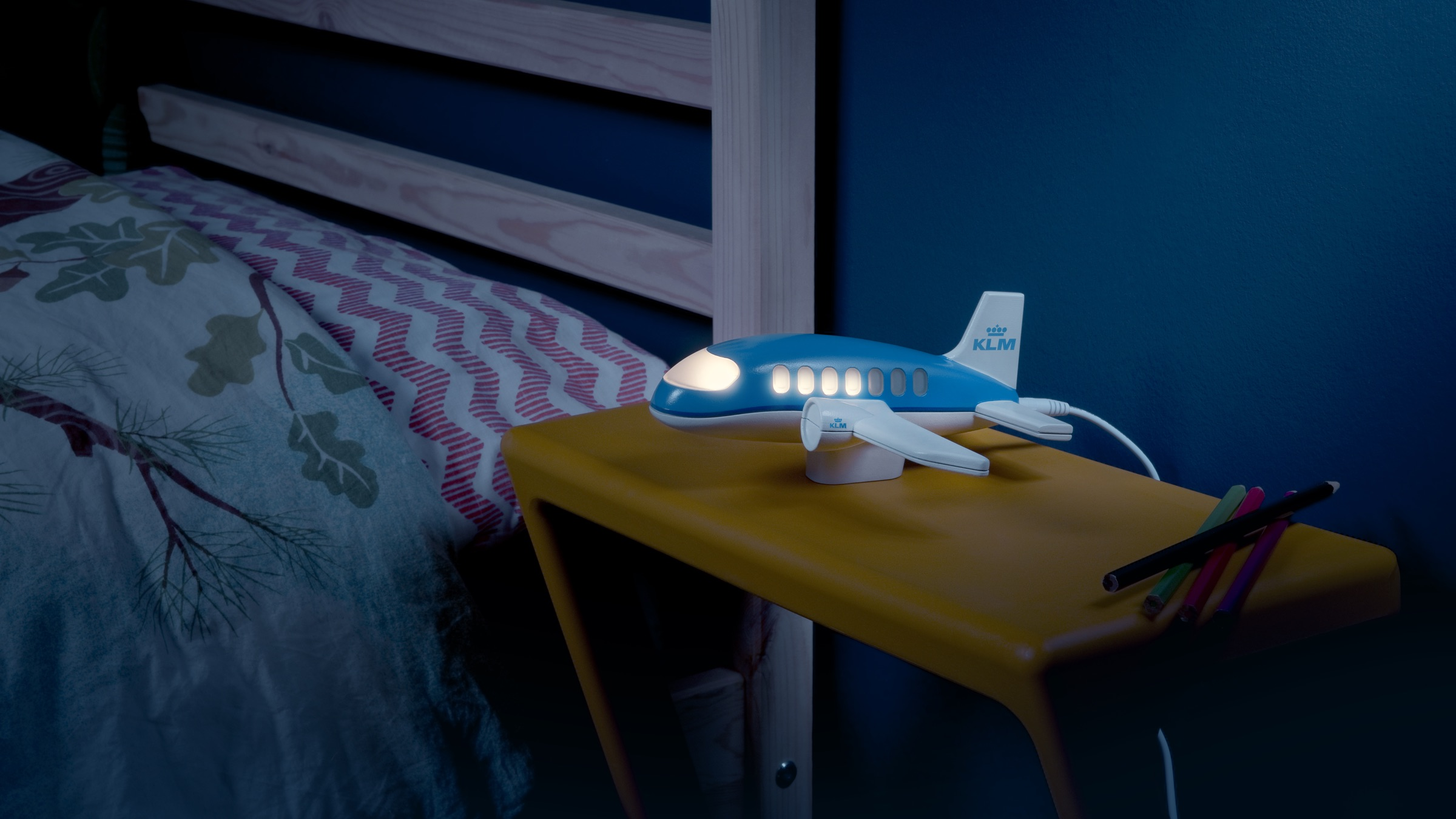KLM Nights LightA night light that counts down the nights until parents return from their trip. - Client: KLMRead more —>