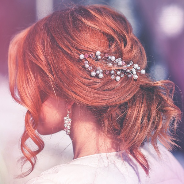 BRIDAL HAIR - #NioxinBridal2019An opportunity for stylists to highlight their technical hair artistry with an elegant, beautiful bridal upstyles.