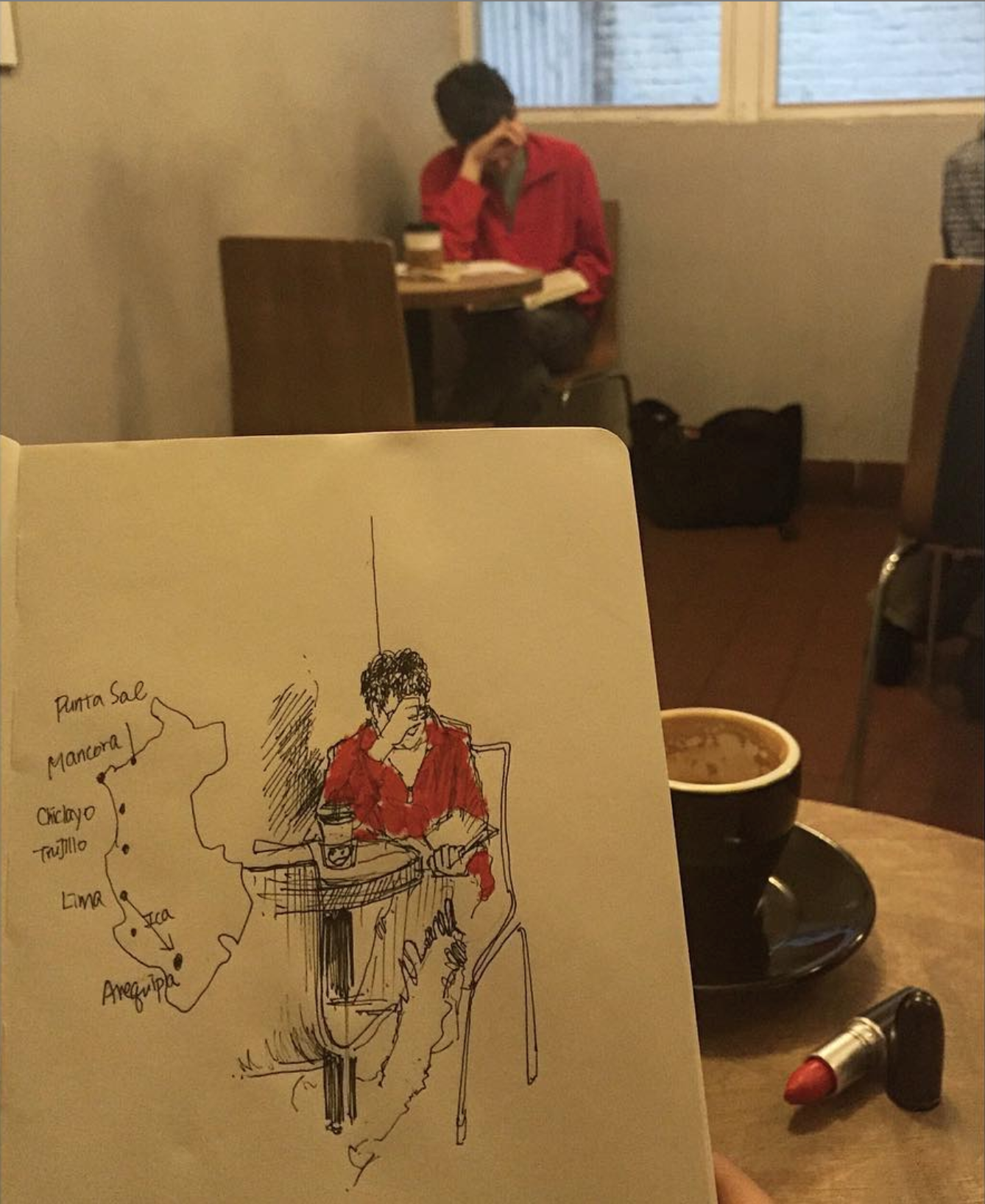 Cafe Grumpy 2017 March (When you don't have any color pencil but a lipstick with you) .png