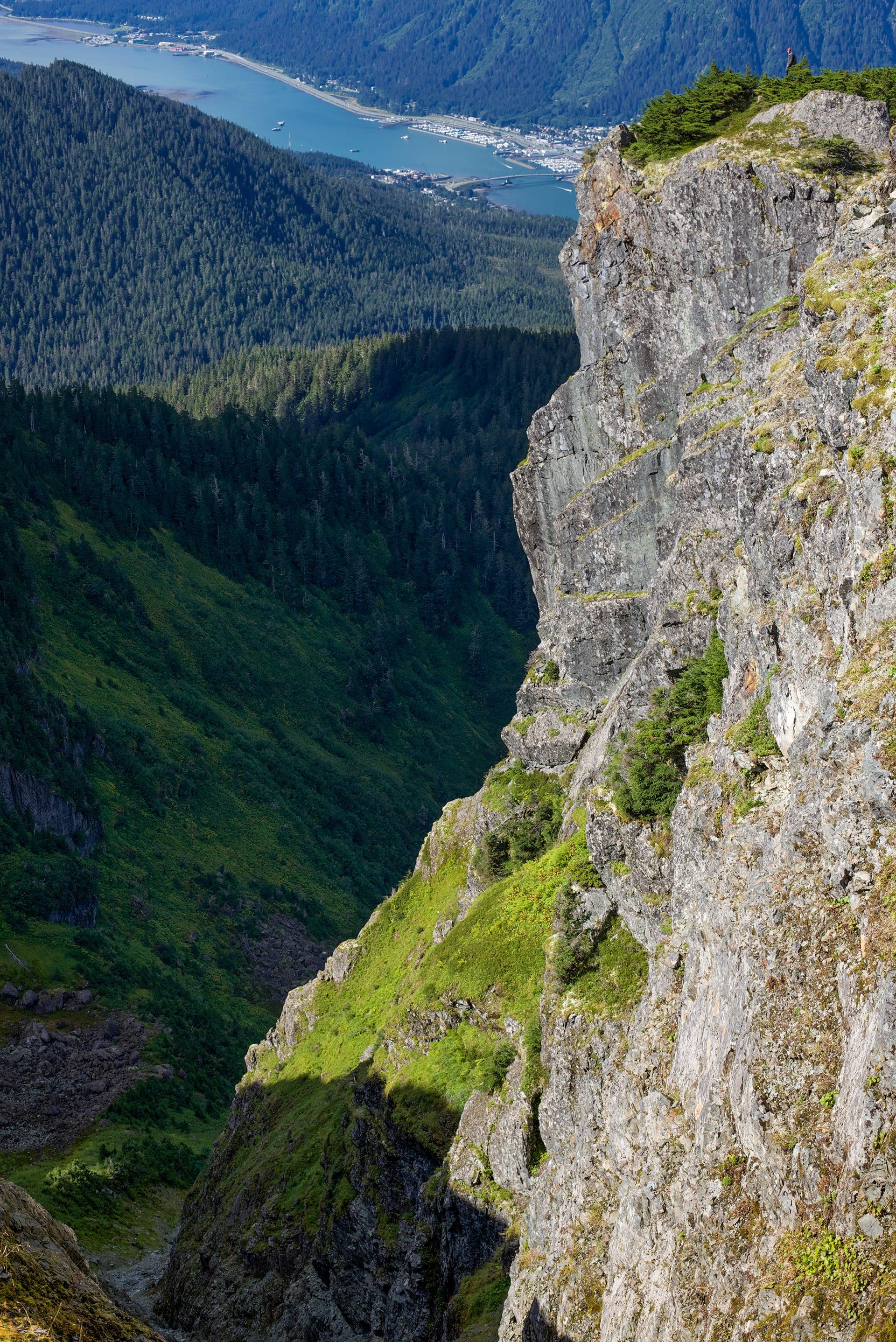 Mt. Jumbo Cliff.