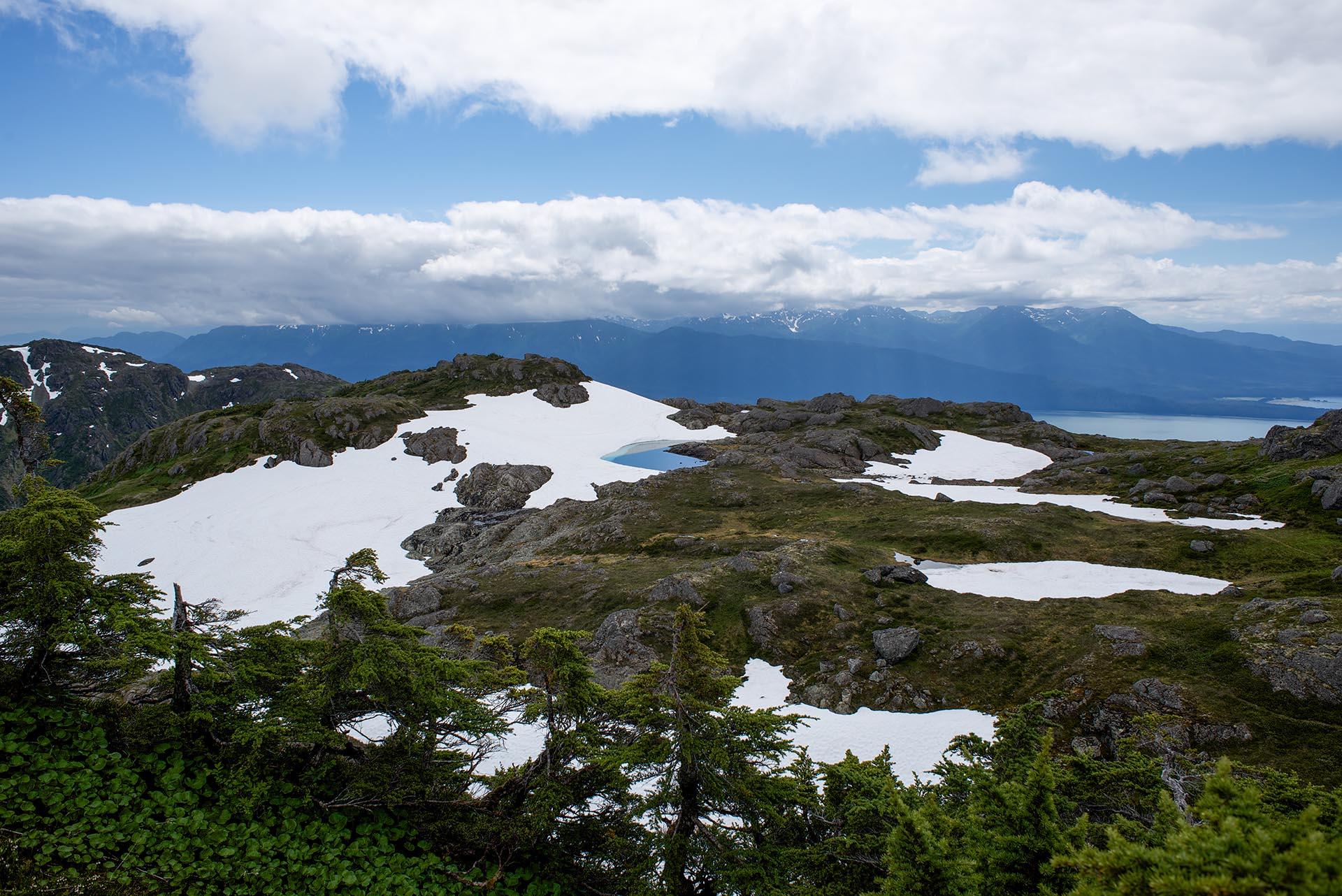 The paradise on top of Mt. Jumbo.