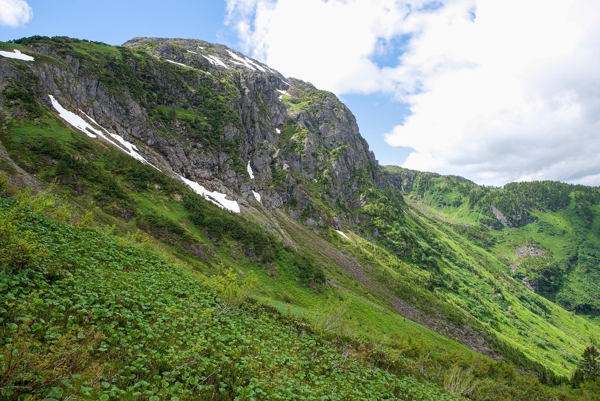 Mt. Jumbo from the ridge.
