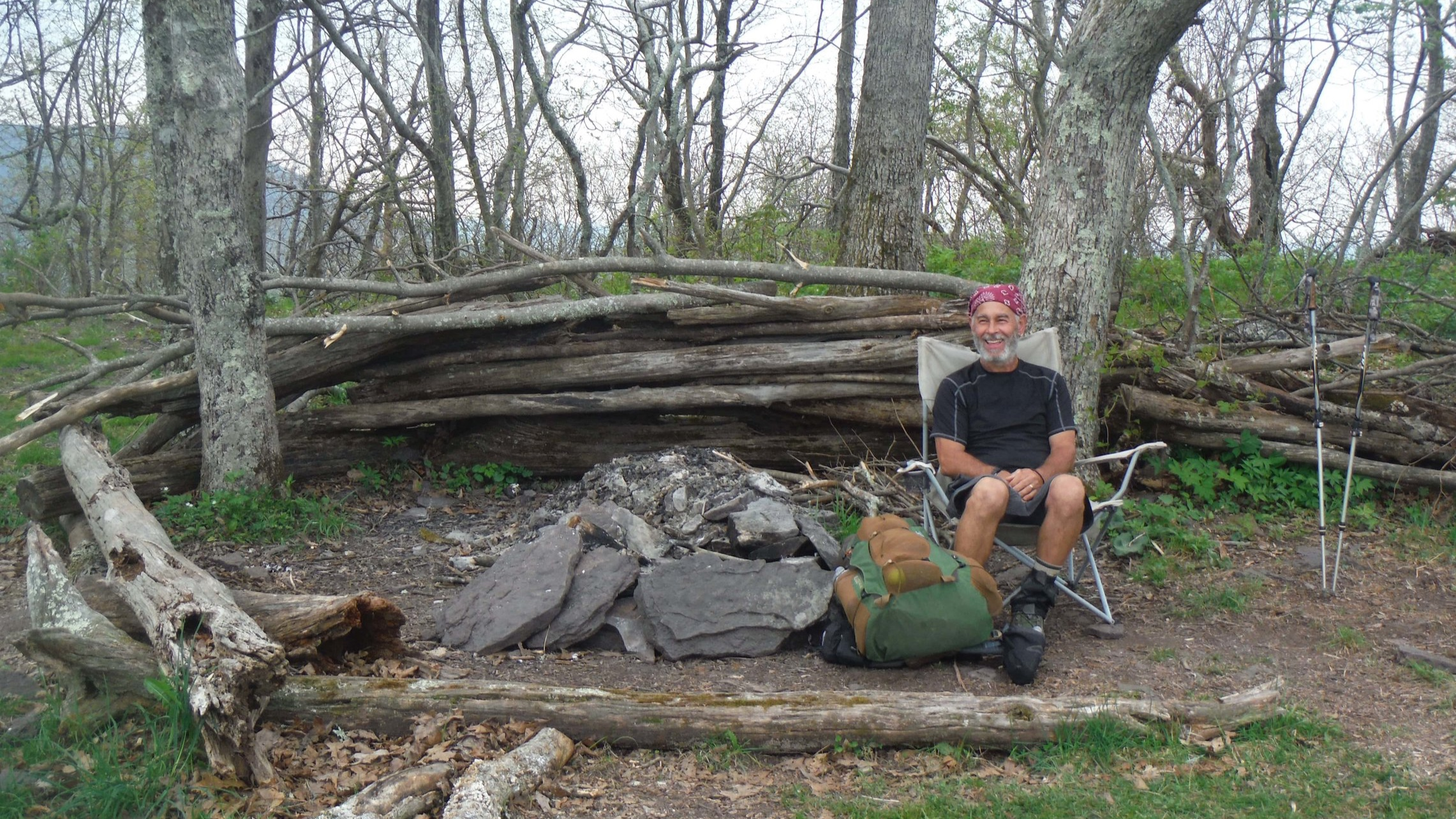 A Comfortable Place To Sit Can Be Magic To A Tired Hiker.