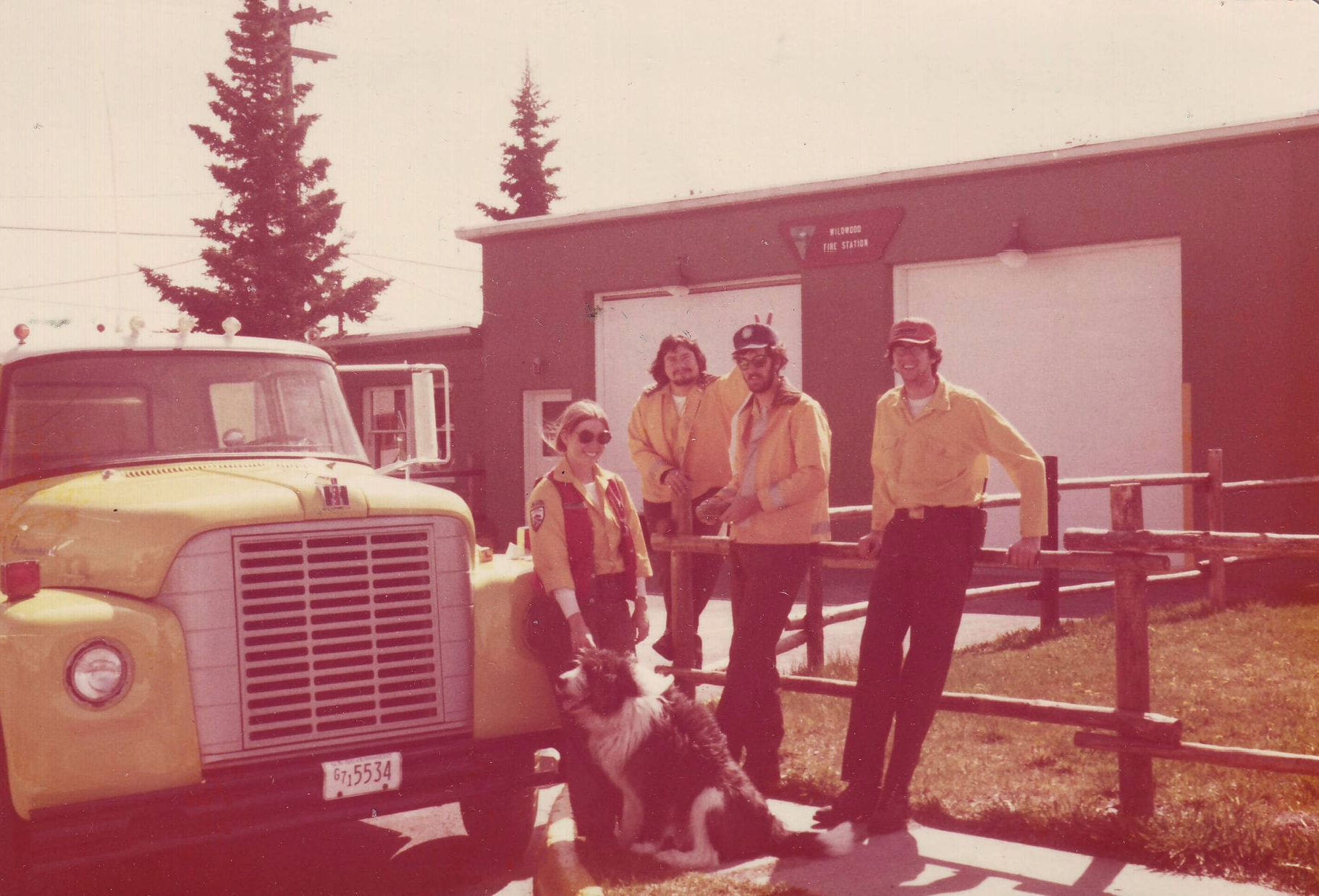 Alaska Engine 511 and Crew