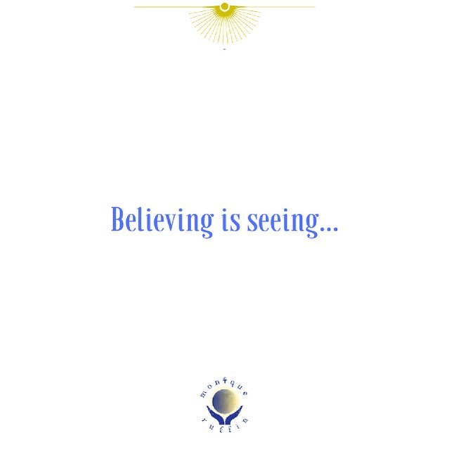 Don't  accept what you've been told as facts. Everything is made up and flexible. You create the reality you experience based upon your beliefs.  If you want to know what you believe, focus on what you're seeing and you'll know what you actually believe.  Believing is Seeing and not the other way around.  #soulmedicine #piscesnewmoon #suninpisces🌞 #moniqueruffin #moonwisdom #virgowisdom #icreatemylife #wakeup #cosmicbeings💫 #starchildren