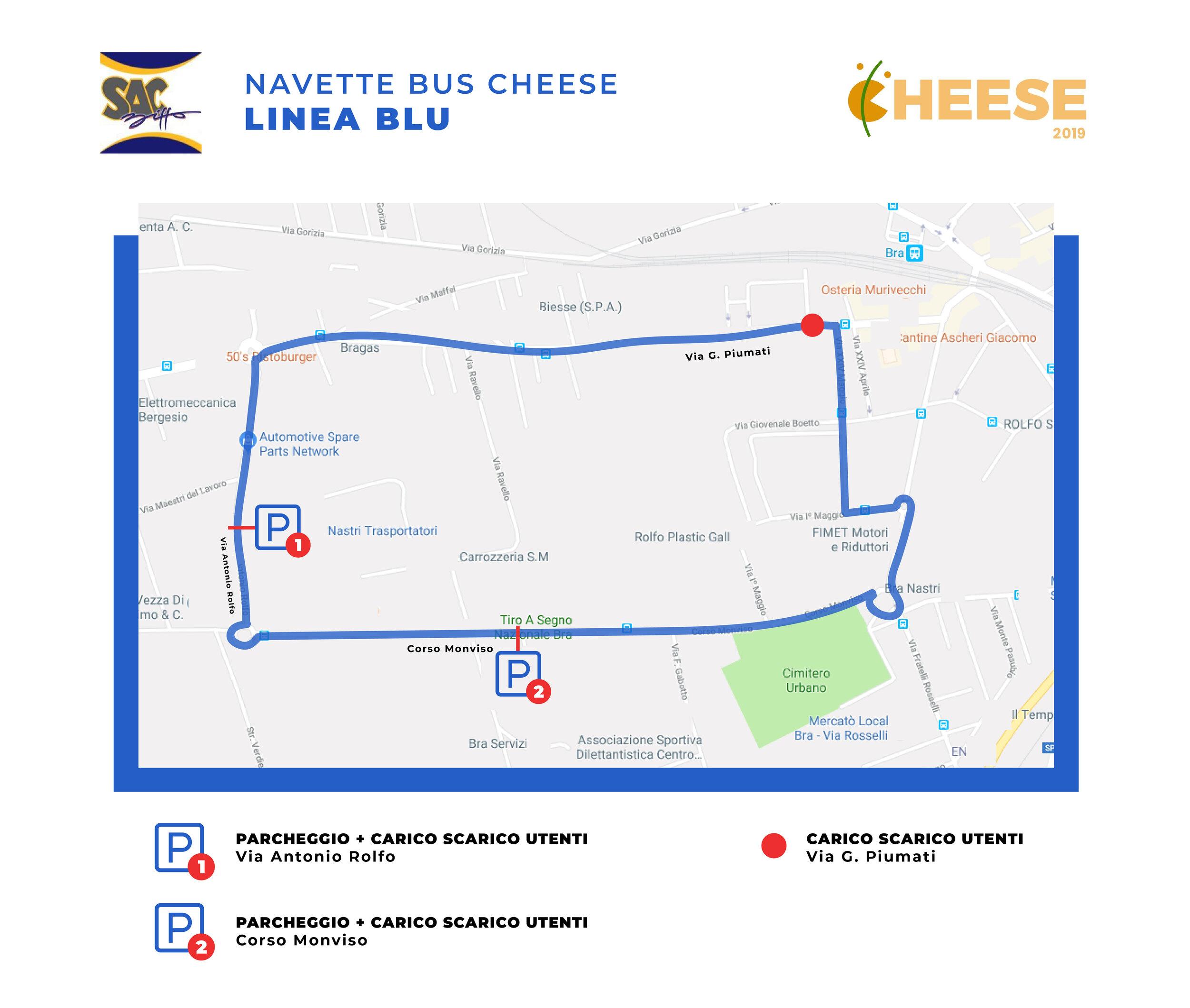 Linea Blu Cheese 2019
