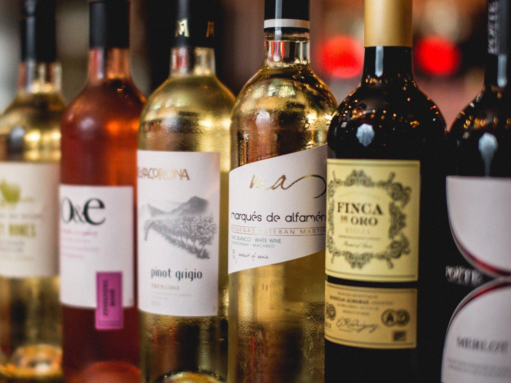Bottle of House Wine: £15 -