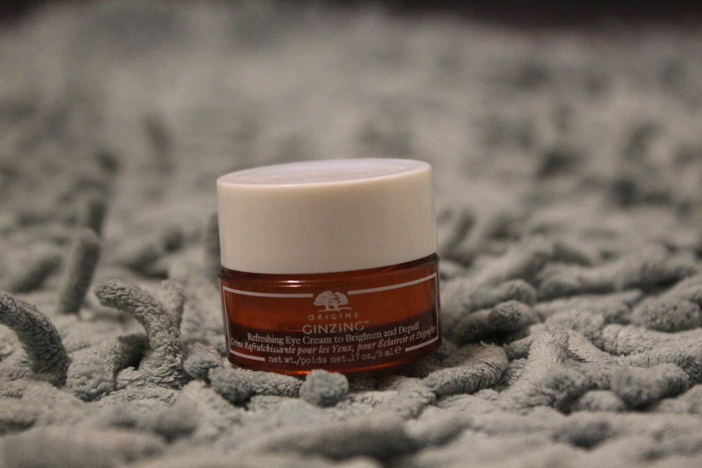Origins GinZing Refreshing Eye Cream to Brighten and Depuff.