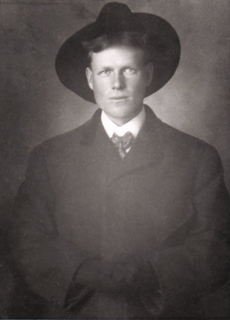 My grandfather Fred some time between 1910 and 1920.