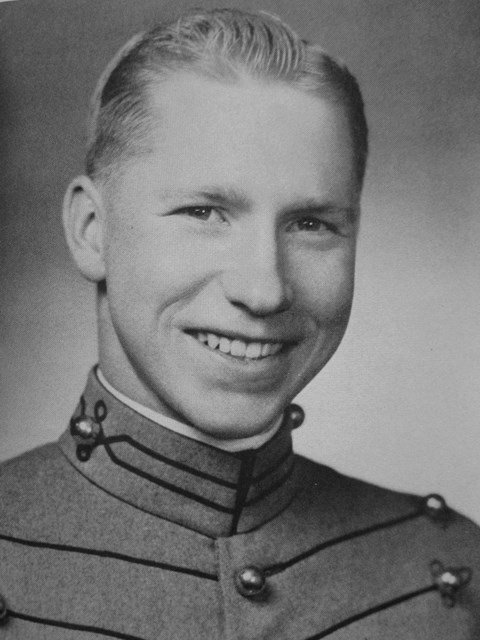 A portrait from my West Point years.