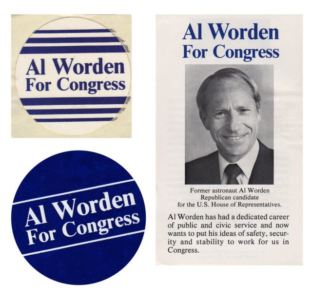 Campaign materials from my run for Congress.