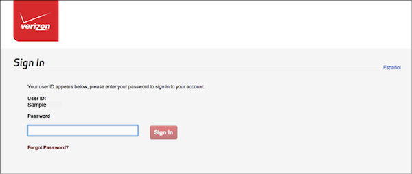 - 5. Final step of User ID retrieval process (with an option to sign-in immediately)