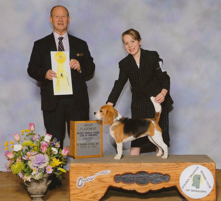 Tipper and Mary had numerous group placements together. Thank you to Judge Mr. James Frederikson for this placement.