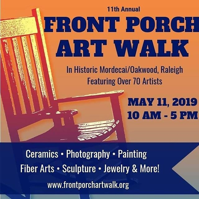 Come out this Saturday to visit us and see tons of great local art!!