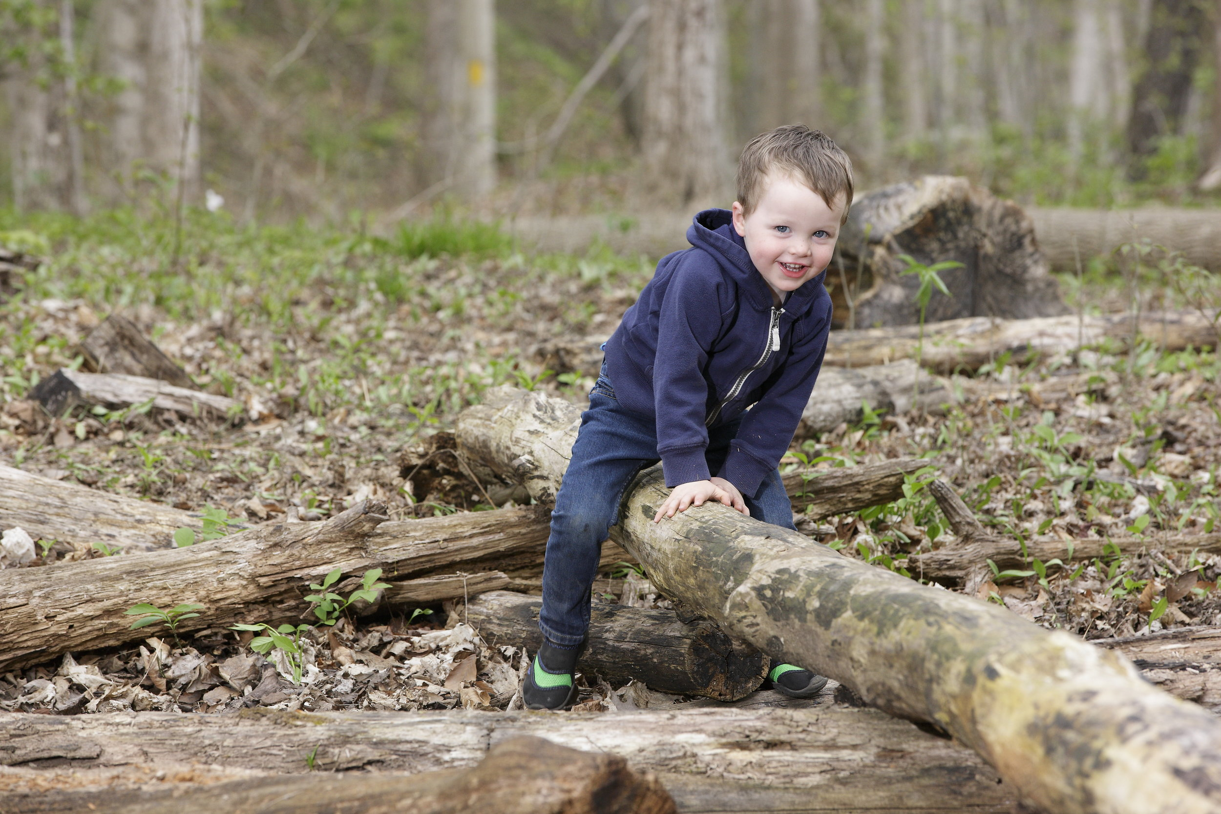 The BEST way to get kids outside is to go with them. - Carve out regular time to engage in unstructured outdoor play. A rapidly growing mountain of evidence indicates that this kind of nature play is critical for children's physical, mental, emotional, and social development, as well as their everyday health. Besides, they'll love you for it!