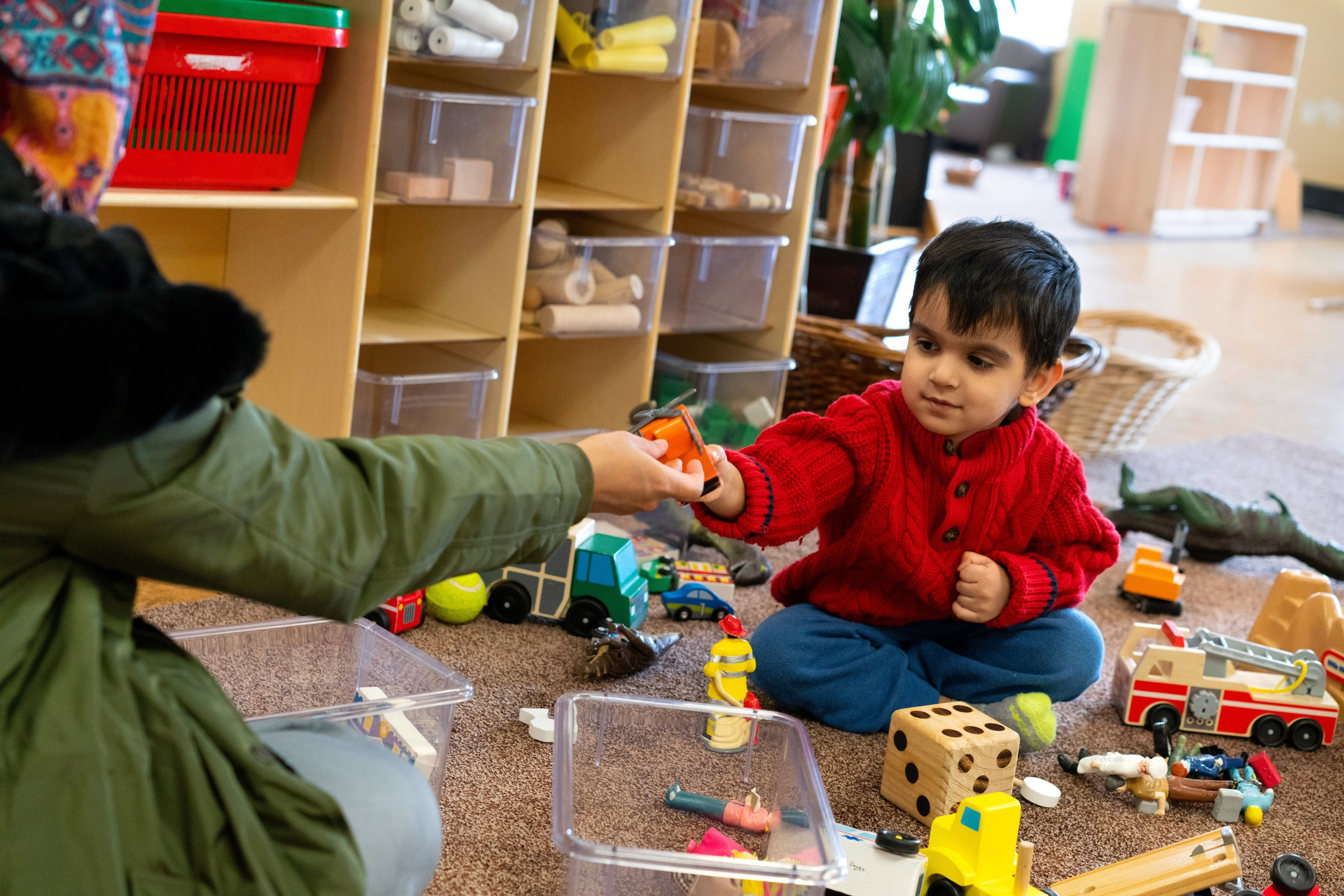 Toy Libraries are community builders. - When you borrow from a library, you are saying yes to everyone else in your community having access to the same things as you do. When you borrow toys, take time to talk to your kids about the fact that they are sharing these toys with the other kids in their city and why this is important.