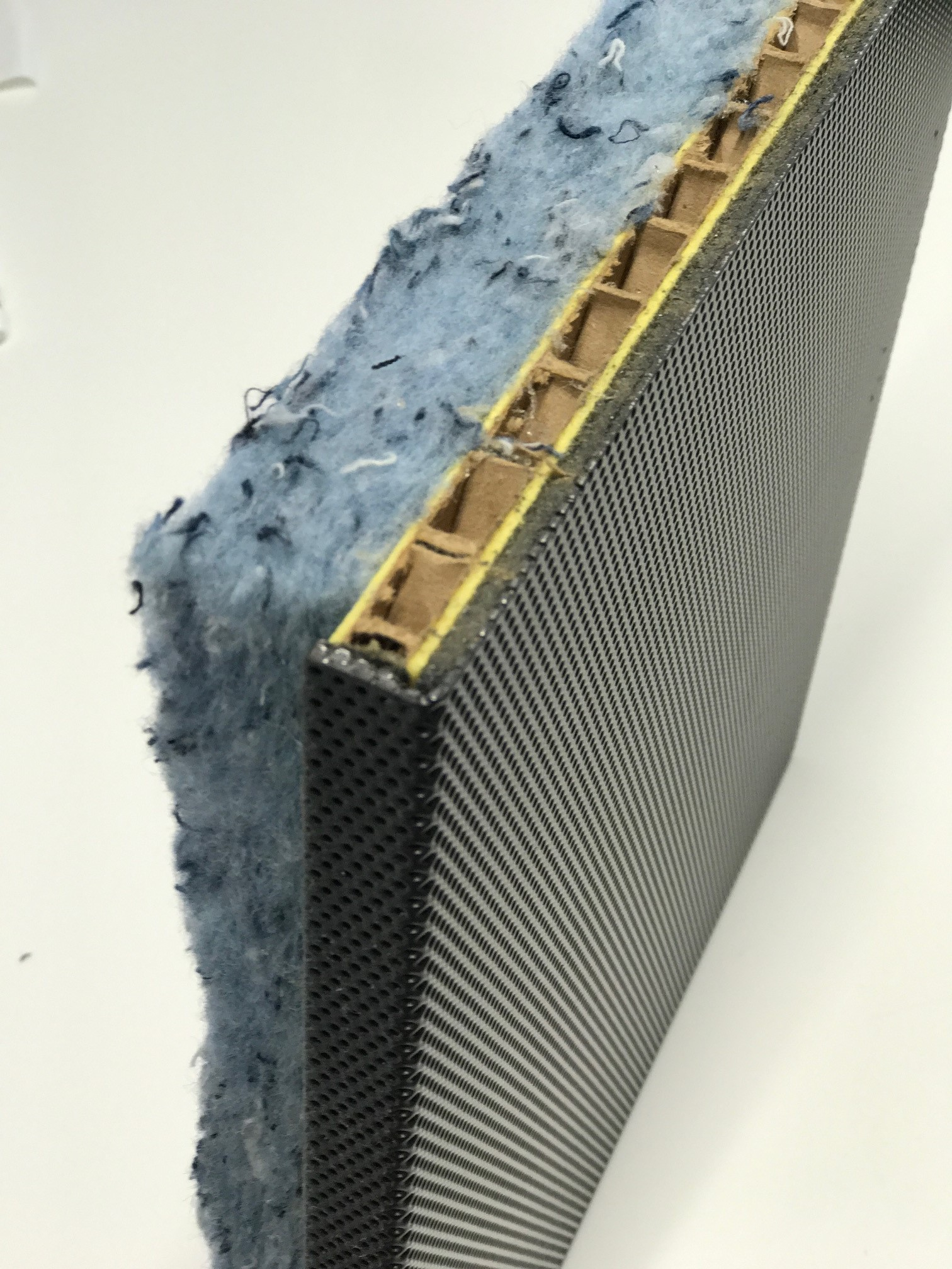 Acoustic wall elements