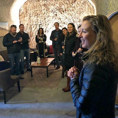 - Schatzi Throckmorton of Relic Winery