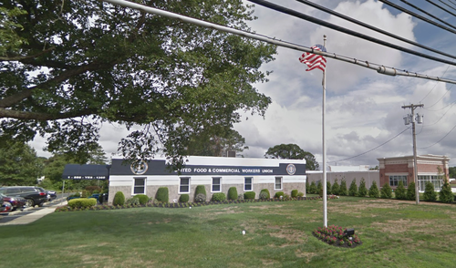 UFCW Local 360 Union Hall as seen from Rte 73 North