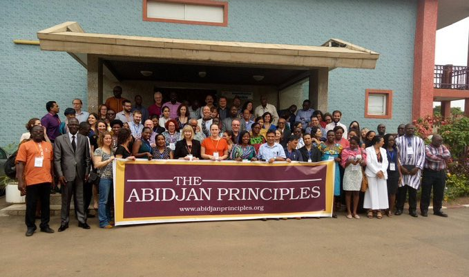 Support for the Abidjan principles - Learn more about the drafting committee members, signatories and endorsements to the Abidjan Principles.