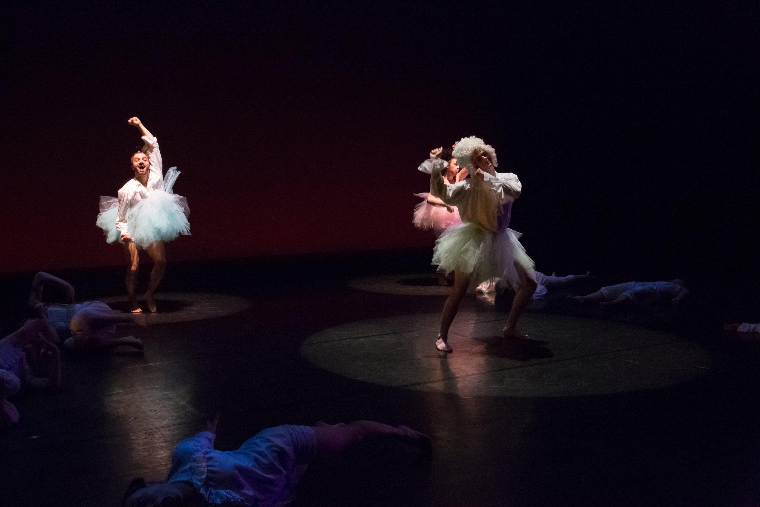Dancer in  Fredonia 's Dance Ensemble.