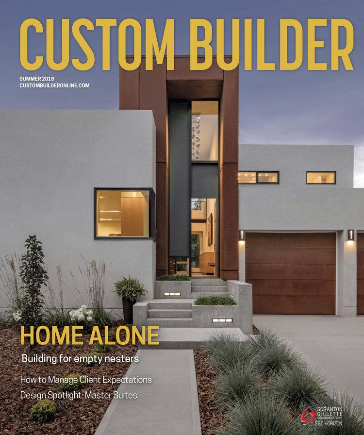 CUSTOM BUILDER MASTER SUITES: DESIGN SPOTLIGHT