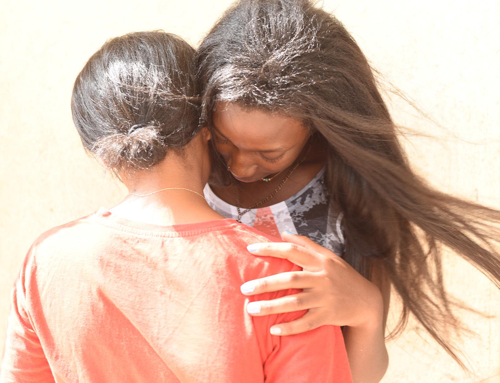 Beit Ruth healing hug