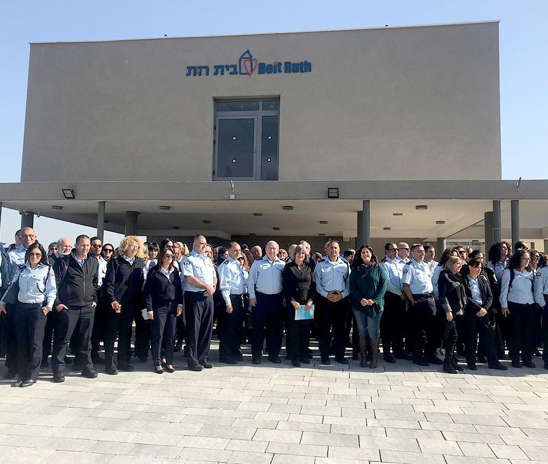 Israeli police support Beit Ruth