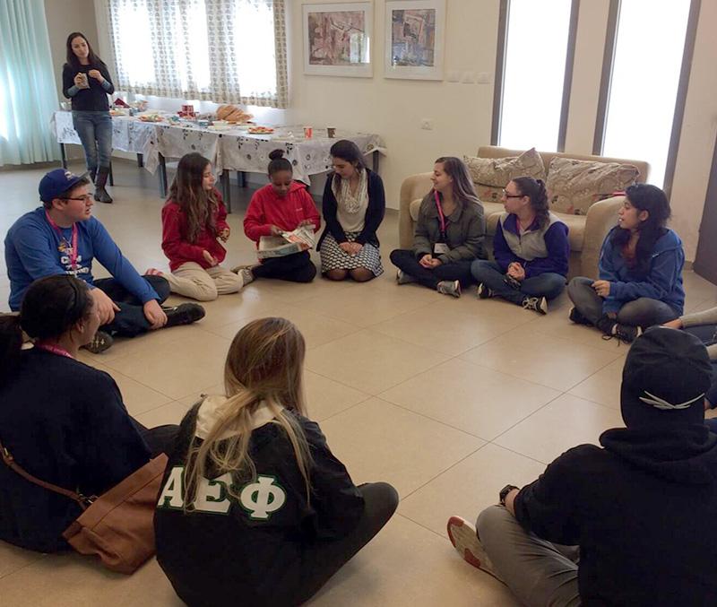 Beit Ruth Girls Classroom