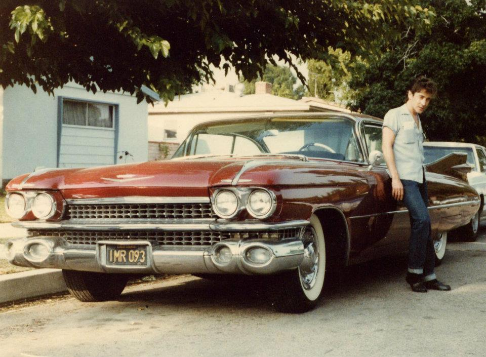 Rick Vito with his 1959 Cadillac Coupe De Ville