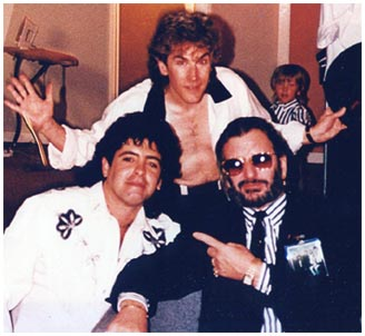 Rick Vito, Ringo Starr, Billy Burnette, Francesco Vito