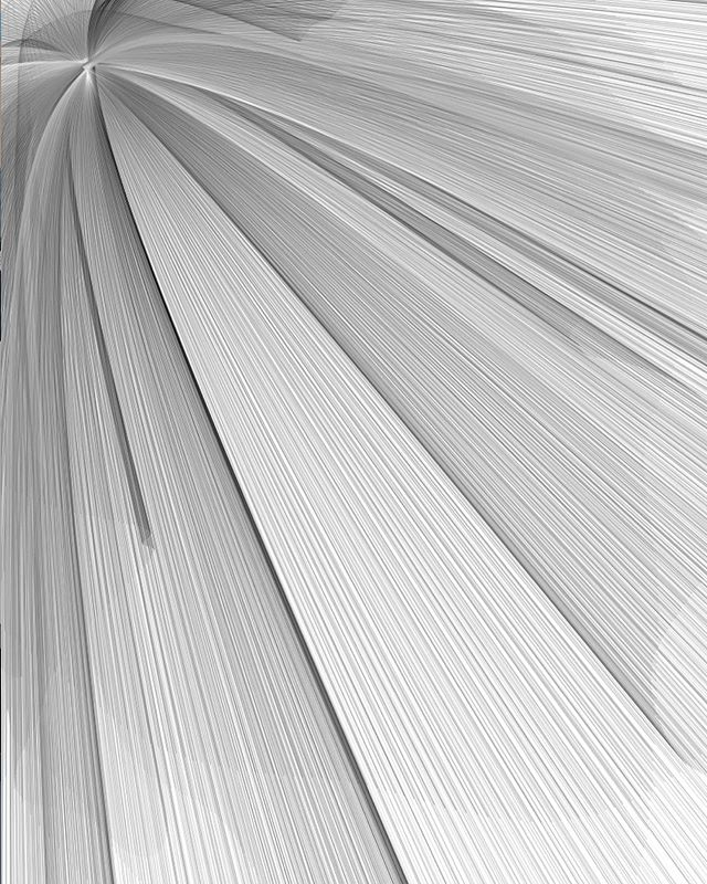 "Variations on Matt Pearson's ""Wave Clock"" using bézier curves"