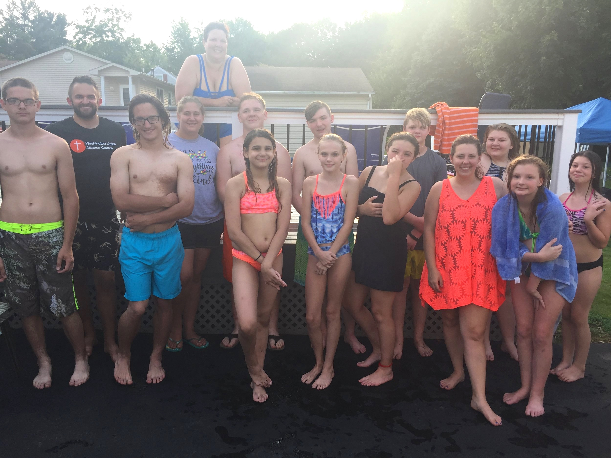 Youth Pool Party - July 2019