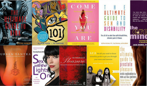 RECOMMENDED READING - books every sex nerd should read and reference.