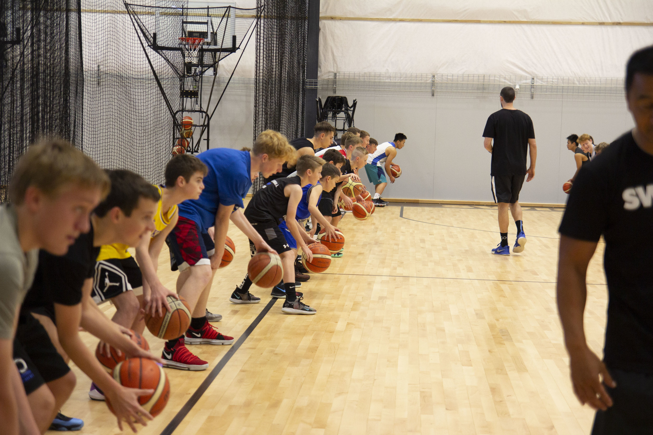 Group Class Schedule - Try one of our Group Classes - JUNIOR SHOOT, JUNIOR HANDLES and junior 3x3 to improve your skills and have fun while doing it. 4pm Mon-Thursday and Saturday 9am and 1pm.