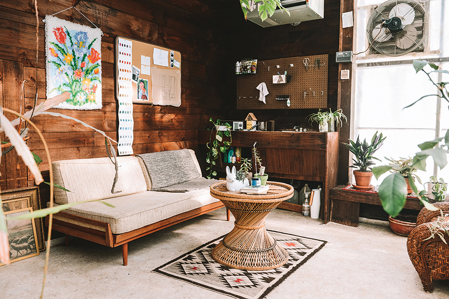 When unpacking from their move, Jane discovered the original greenhouse catalog, receipts from its installation and old photos. Their greenhouse was a $3,000 kit in 1979, and many of their design choices mirror the original owners' scheme.