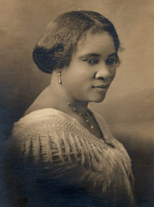 """""""I had to make my own living and my own opportunity. But I made it! Don't sit down and wait for the opportunities to come. Get up and make them."""" - —Madam C.J. Walker"""