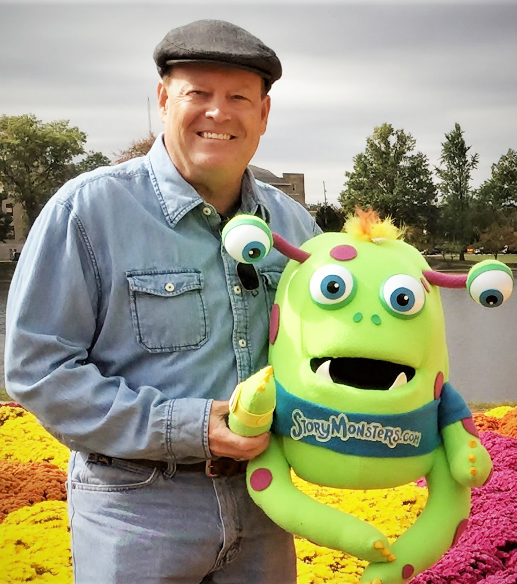 Conrad and theStory Monster can visit your school -