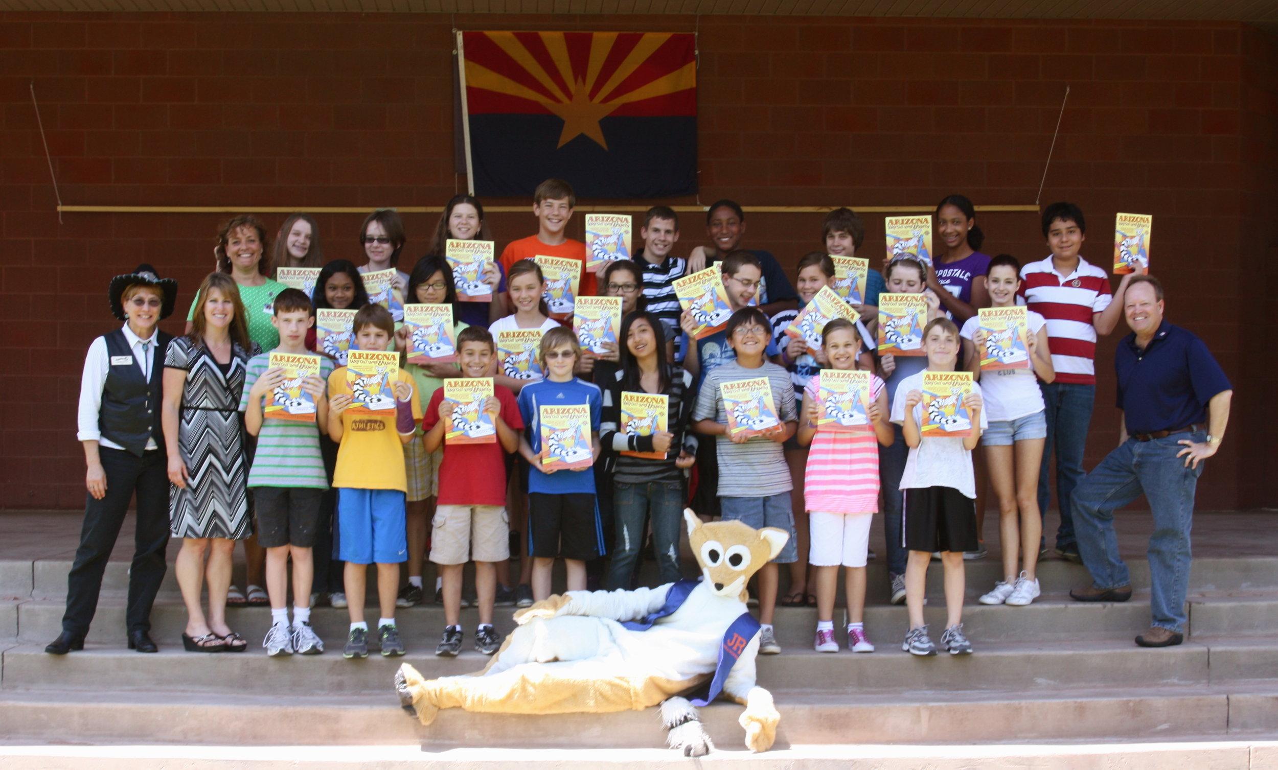Chandler 5th Graders Love AZWOWW.JPG