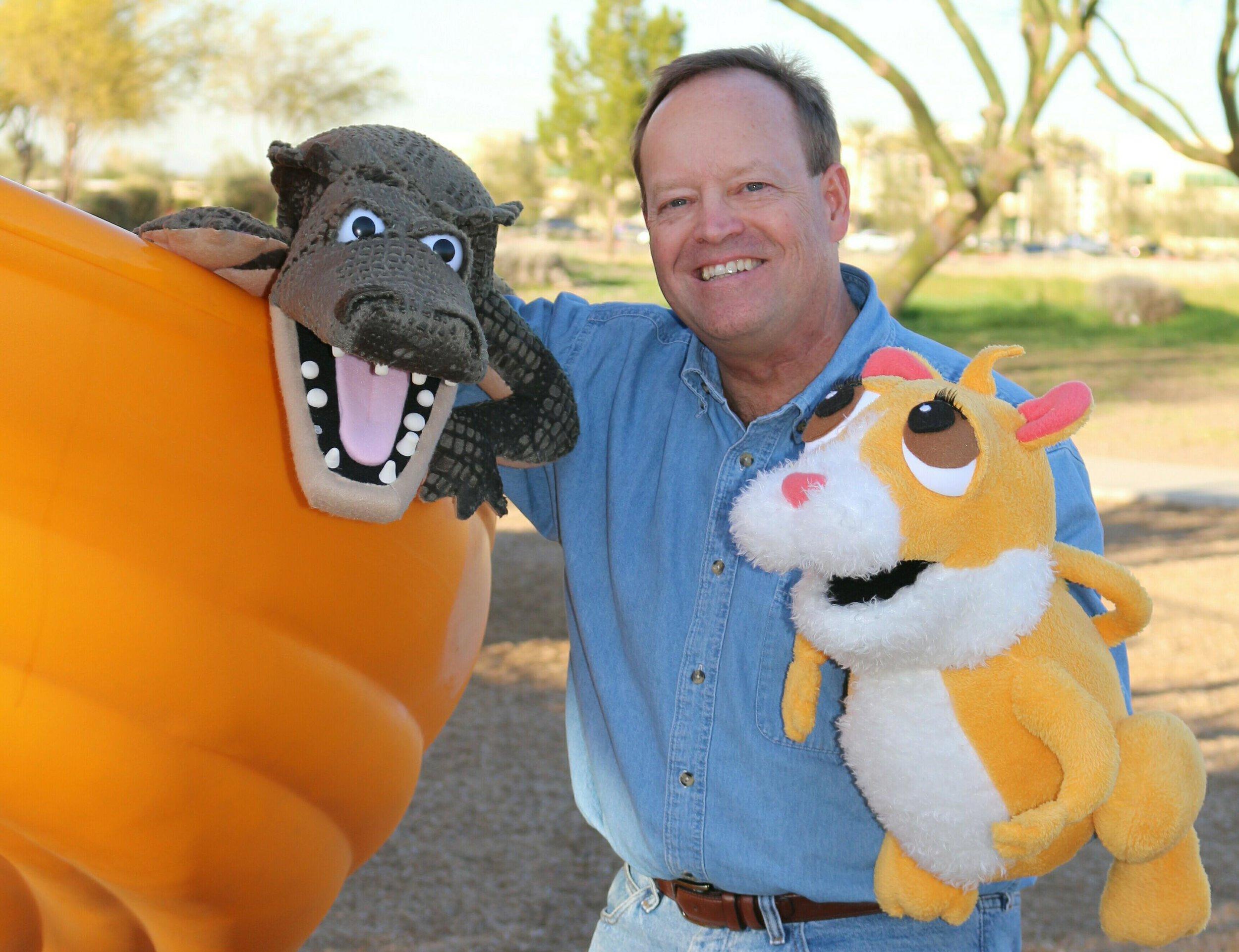 Conrad and Gator puppet..jpg