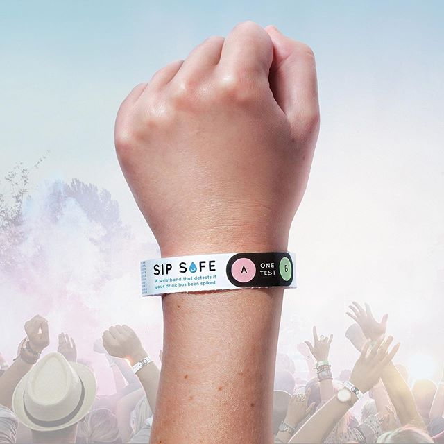 4,500 Australians have their drink spiked every year - with 40% leading to sexual assault. . To protect its students and the community, @monash_uni and @vmlyr Melbourne created Sip Safe, an innovative wristband that detects if a drink may have been spiked. . Designed to be used on campus as well as at festivals, events, and nightclubs that already utilize wristbands, Sip Safe aims to enable young people to protect themselves while also providing a deterrent for would-be drink spikers. . The campaign won a Silver Pencil in Innovation In Health & Wellness at this year's The One Show 🏆. #OSawards