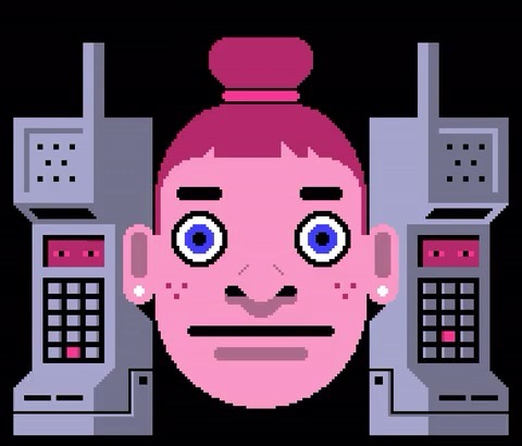 """Young Guns 16 winner @licknittle is a Brooklyn-based illustrator specializing in animated GIFS. His work has been commissioned by @newyorkermag, @technologyreview and @poetryfoundation. . Swipe left to check out his work for the 2017 Tech Issue of @newyorkermag. L to R: """"Calling Out The Robocaller"""", """"Pictures of the Dead"""" and """"An App To Cure My Fainting Spells"""". . Have what it takes to join the illustrious Young Guns community? Submit your creative portfolio by July 26 at youngguns.org. #BeTheYoungGuns"""