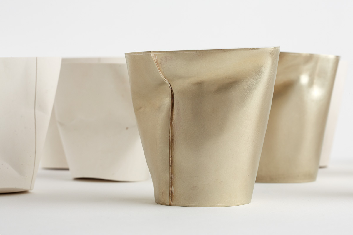 Cup Forms (detail), 2015