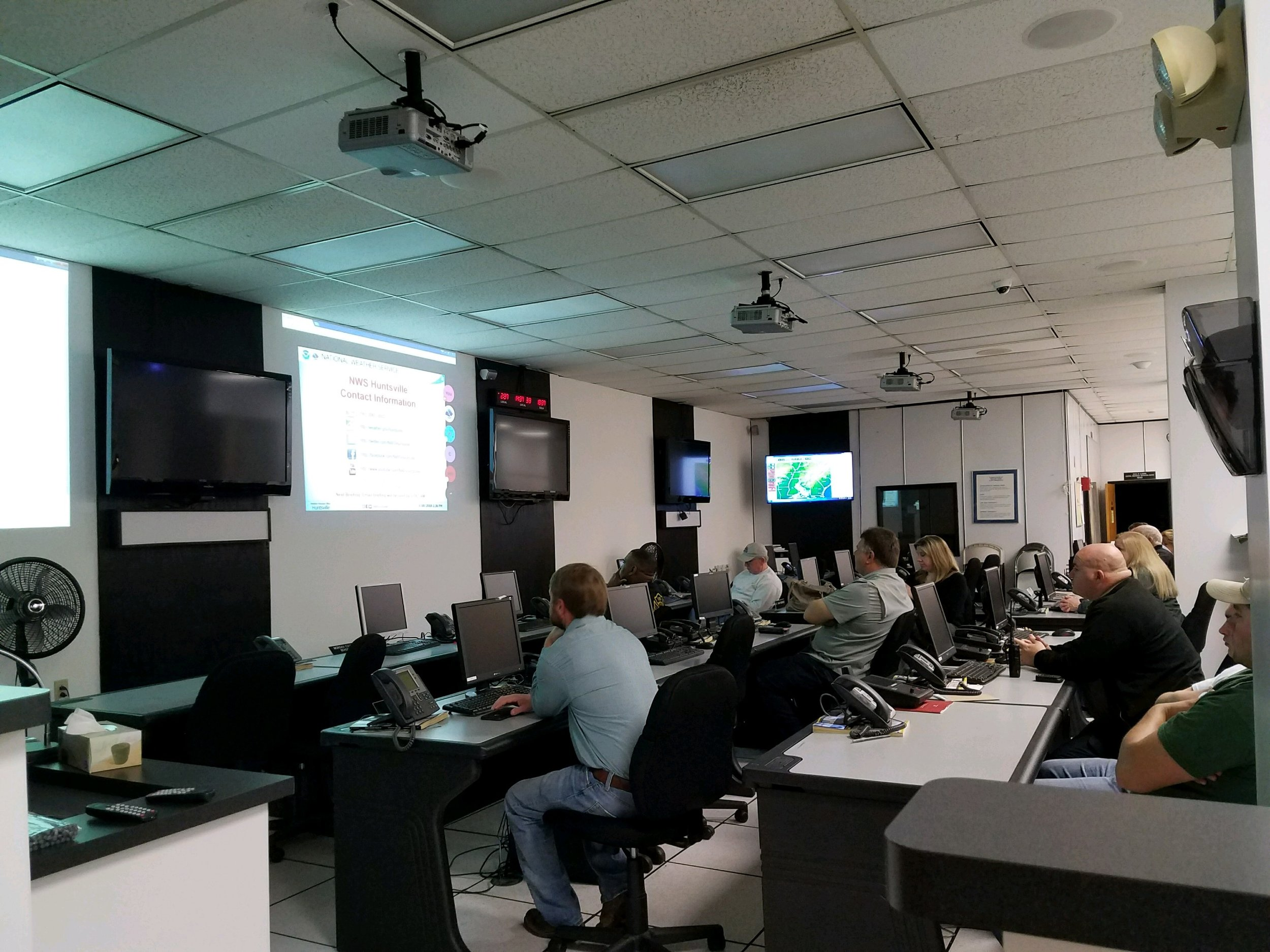 EOC Weather Briefing