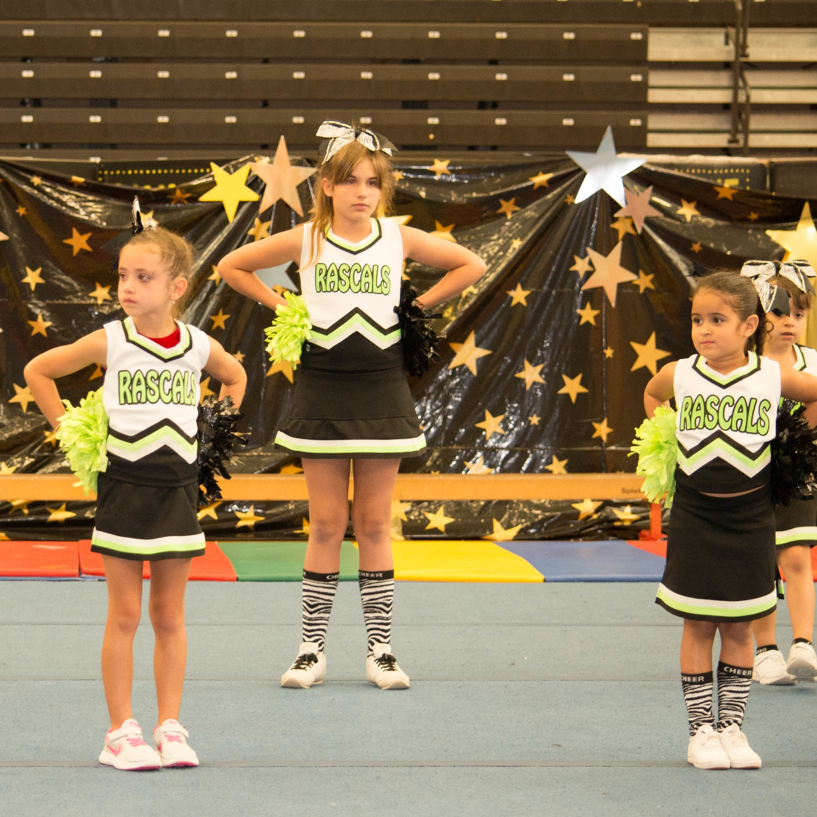 RASCALS CHEER AND DANCE PERFORMANCE SQUADAGES 4+ - Click Here For More Information